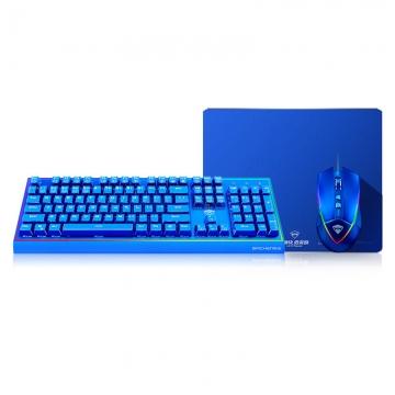 机械师 情侣版定制键盘+鼠标套装