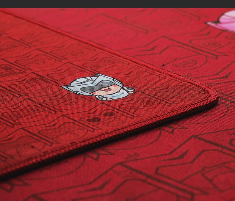 机械师 多功能双面 高级桌面鼠标垫/键盘垫 大号 加厚  吃鸡定制电脑桌垫 尺寸680*300mm